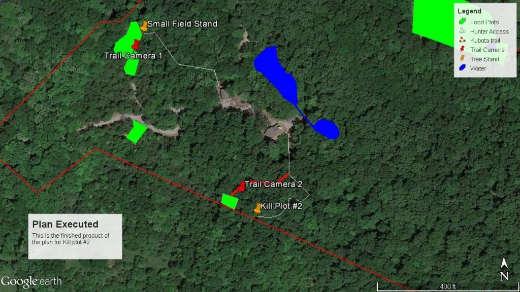 2015 Habitat Plan Execution - Google Earth Map